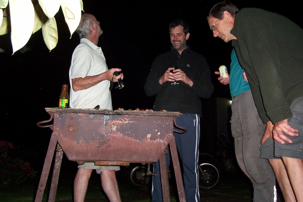 Braai night in Arusha