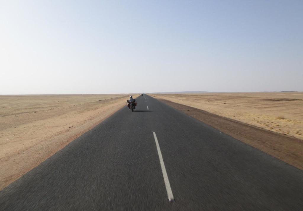 Bayuda Desert road